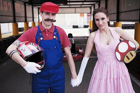 Супер-Марио свадьба