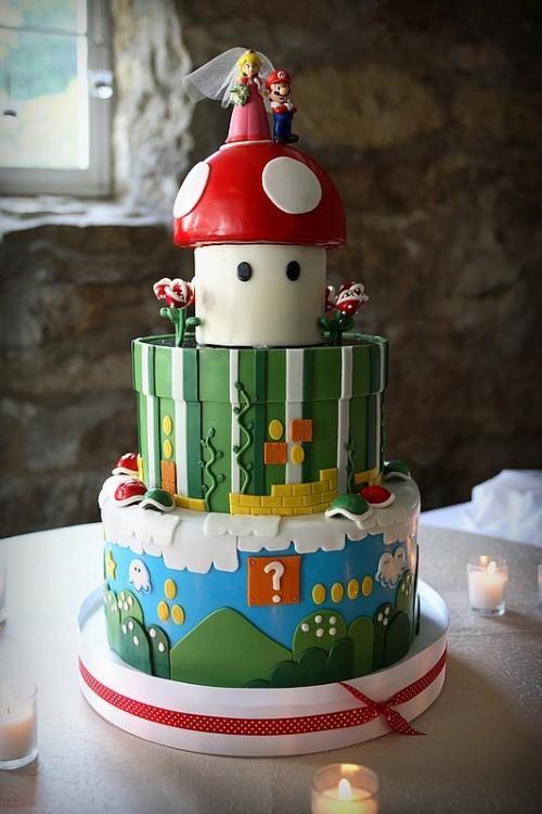 Супер-Марио - свадебное входновение