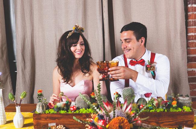 Свадьба в стиле Марио