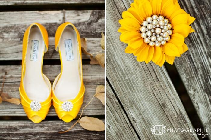Желтые туфли невесты