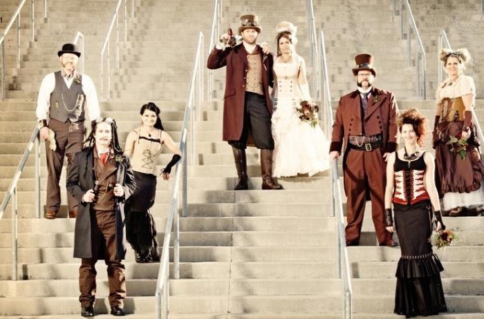 Стимпанк свадьба