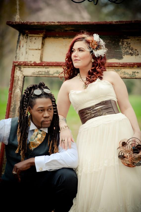 Свадебные образы стимпанк
