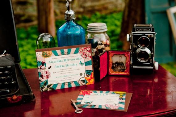 steampunk декор на свадьбу
