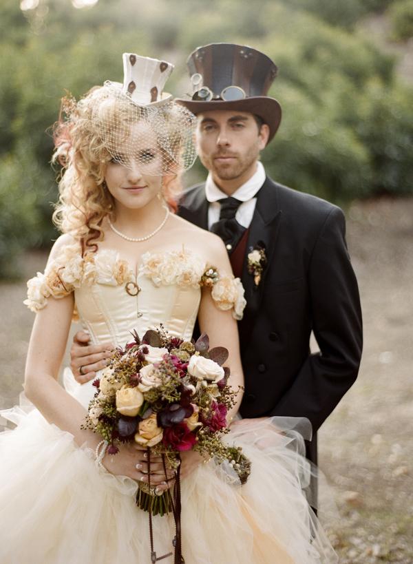 Необычная свадьба стимпанк