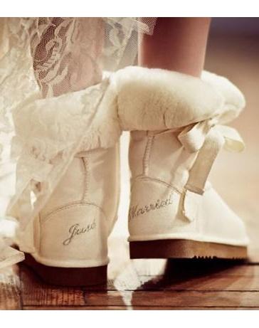 Зимняя обувь для невест