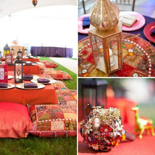 Свадьба в марокканском стиле