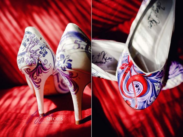 Музыкальные туфли невесты