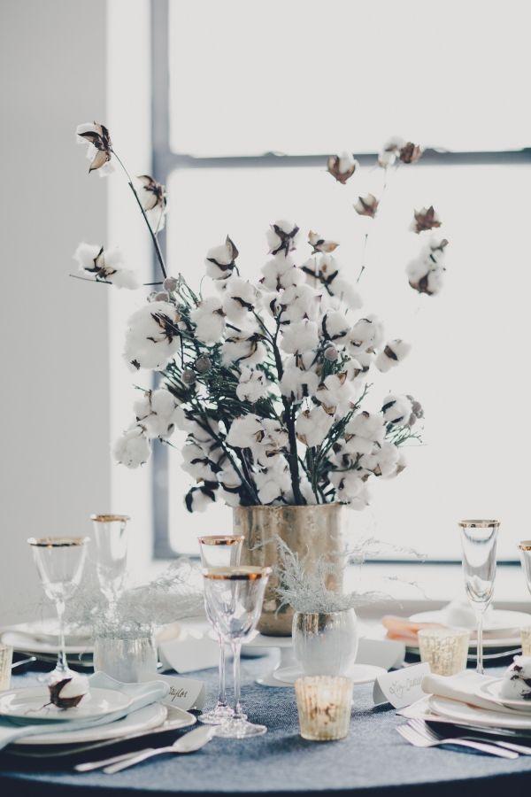 Зимняя свадебная флористика
