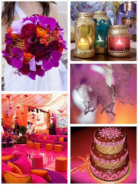 Тема для свадьбы - Марокко