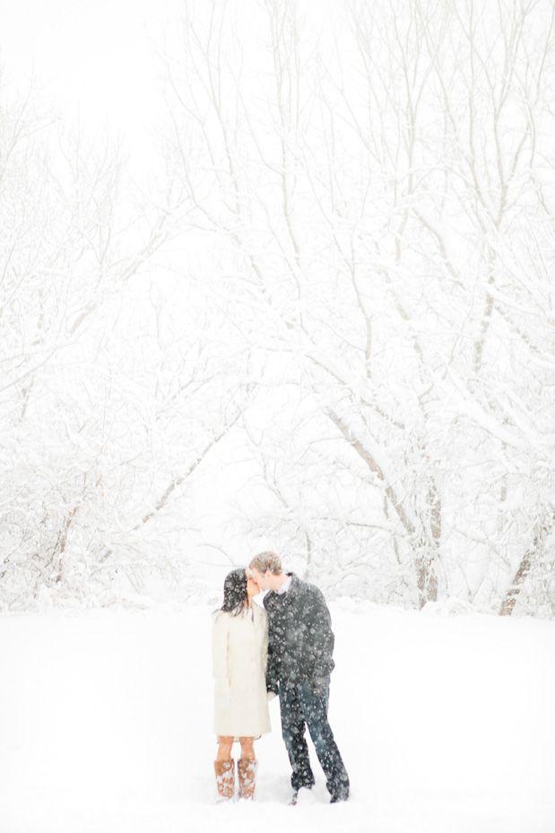 Снежная свадьба