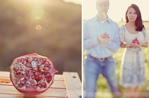 Свадебный аксессуар - гранат