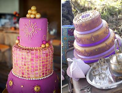 Марокканский свадебный торт