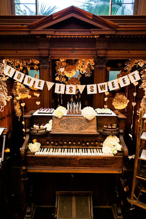 Сладкий стол в музыкальном стиле