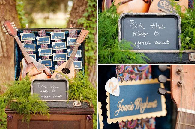 Схема рассадки на музыкальной свадьбе