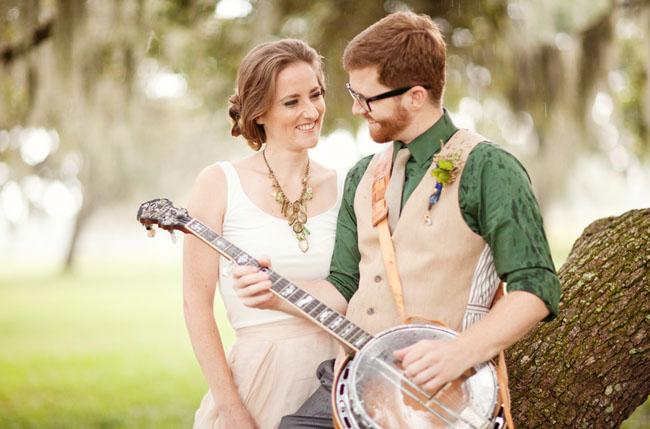 Музыкальные жених и невеста