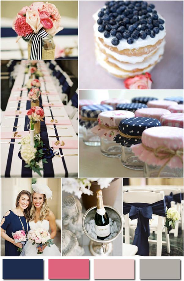 Модное цветовое решение для свадьбы