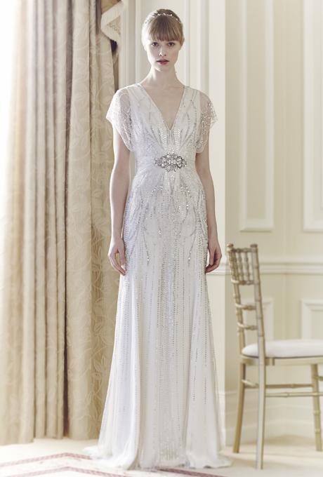 Свадебное платье арт деко
