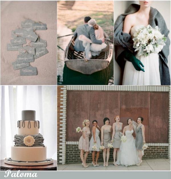 Свадебная палитра 2014