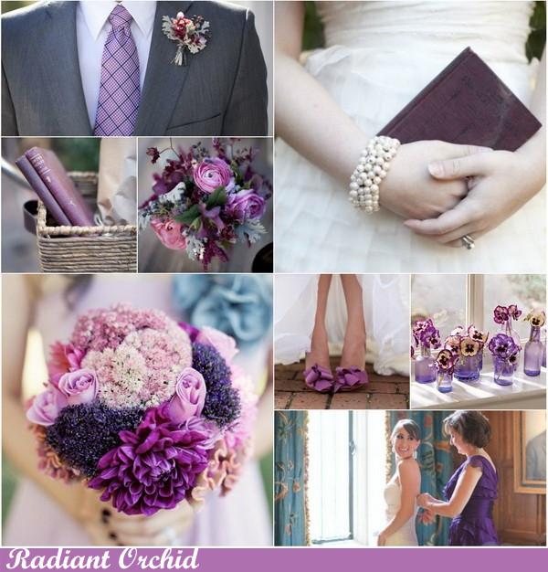 Пантон цветов на свадьбу