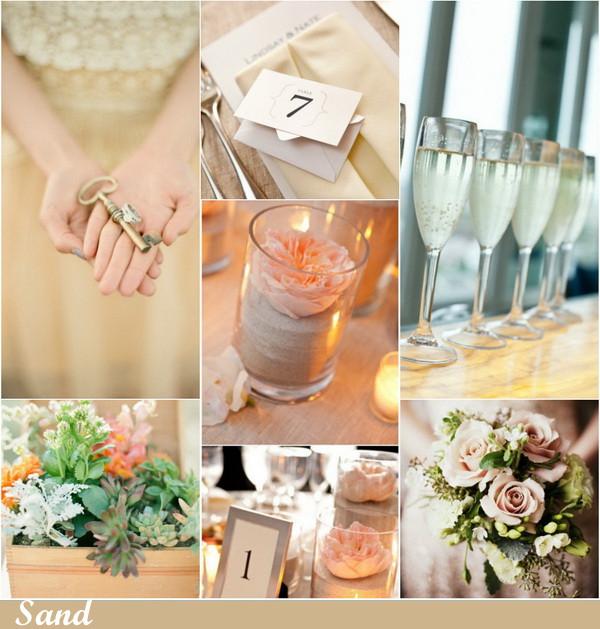 Цветовая свадебная палитра