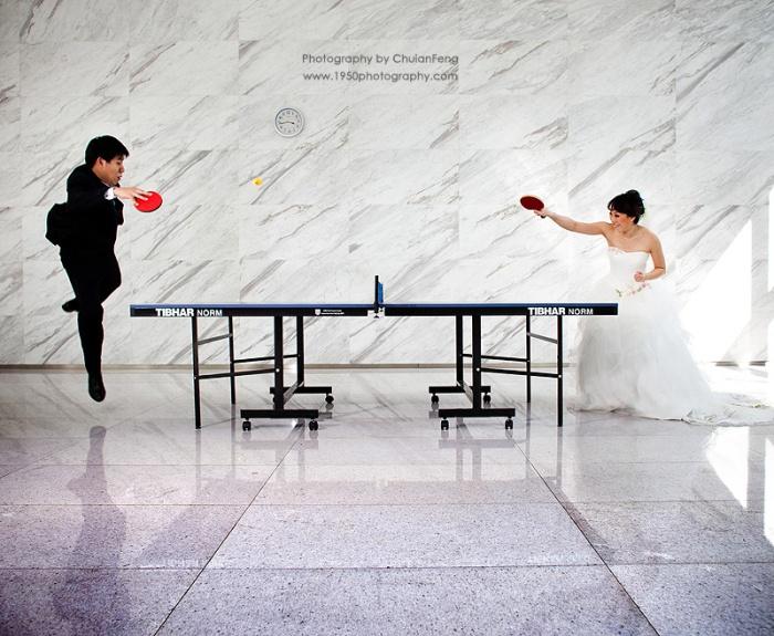 Пинг-понг свадьба