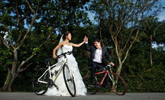 Вело-свадьба