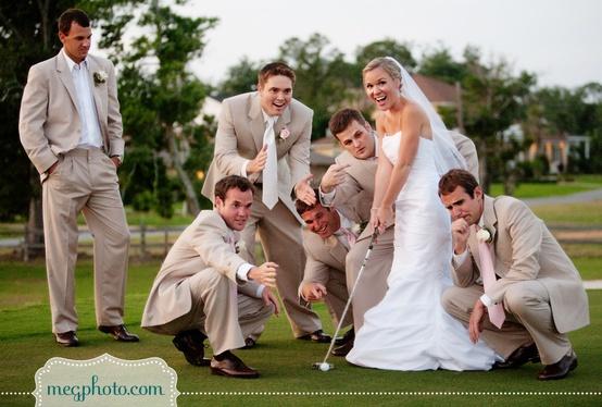 Гольф-свадьба