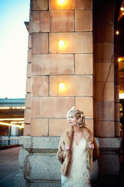 Образ зимней невесты