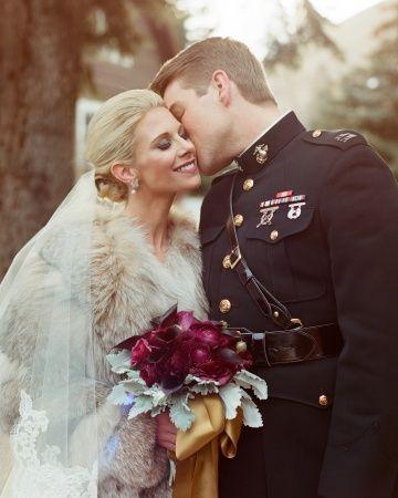 Свадебные аксессуары из меха