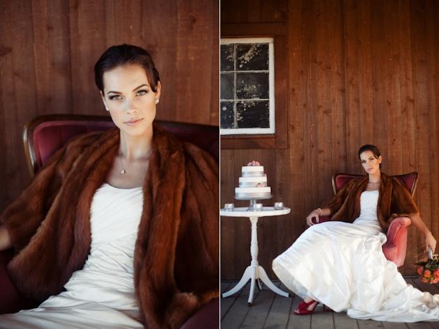 Шубка невесты
