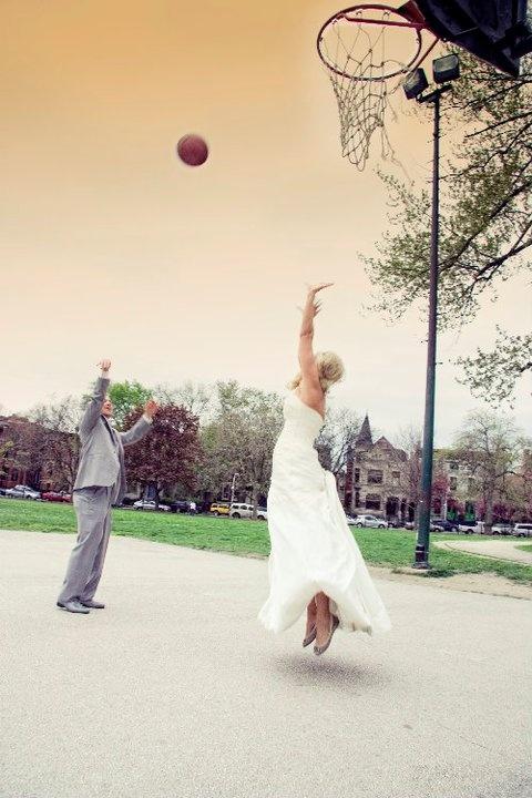 Баскетбольная свадьба