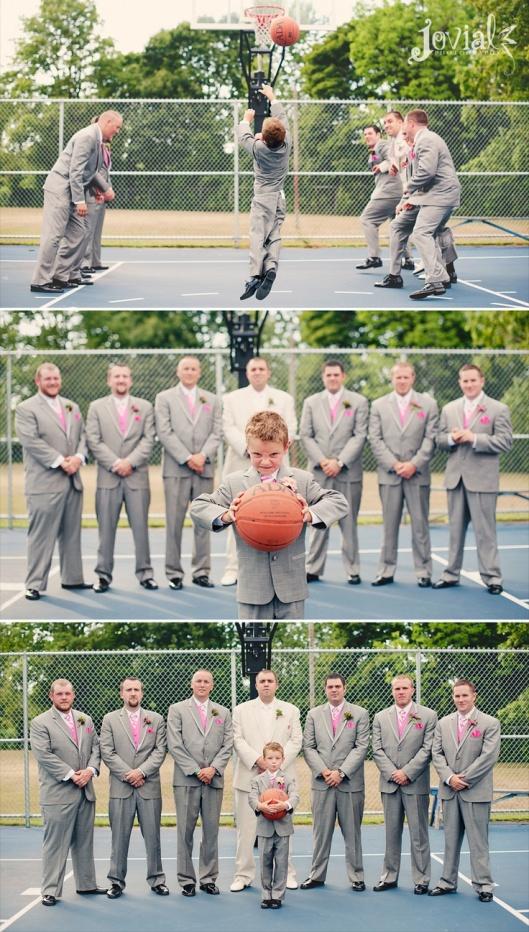 Свадьба на тему баскетбол