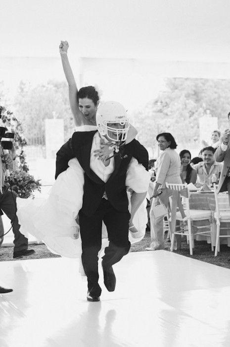 Свадебная тема - спорт