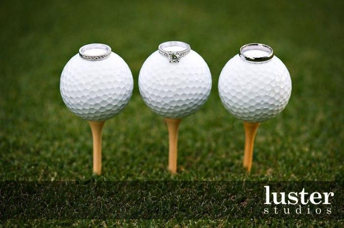Свадьба на тему - гольф