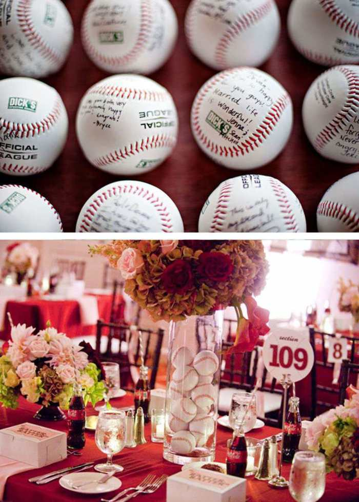 Оформление свадьбы в спортивном стиле