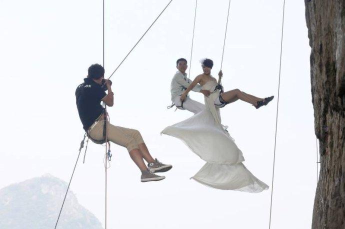 Экстримальные свадьбы