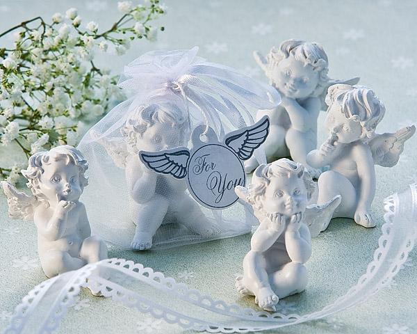Ангелы в свадебном оформлении