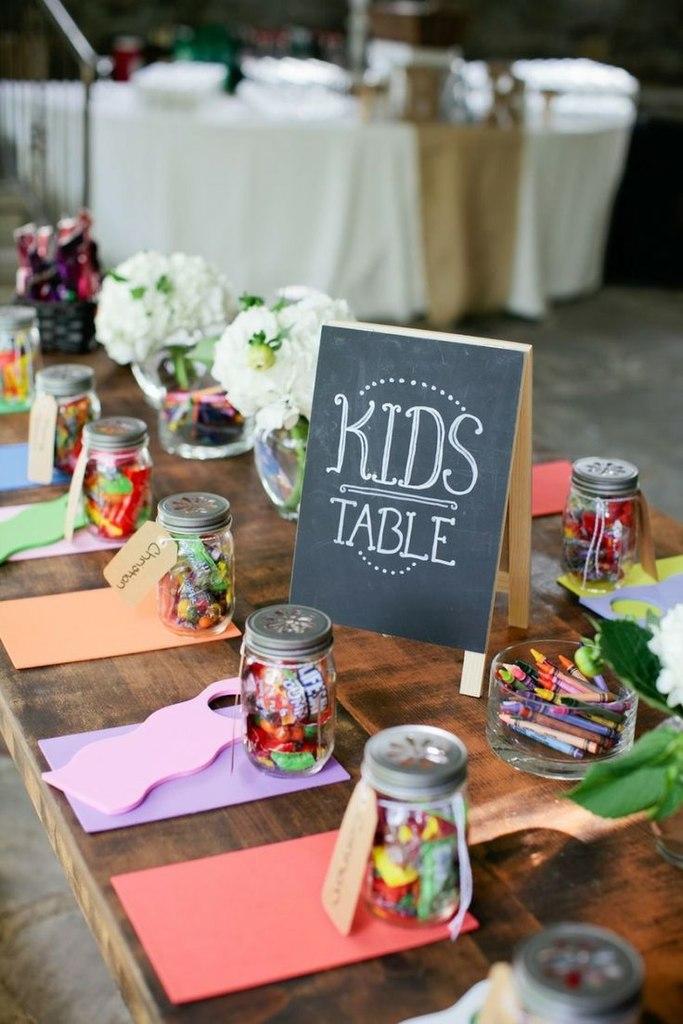 Детская зона на свадьбе