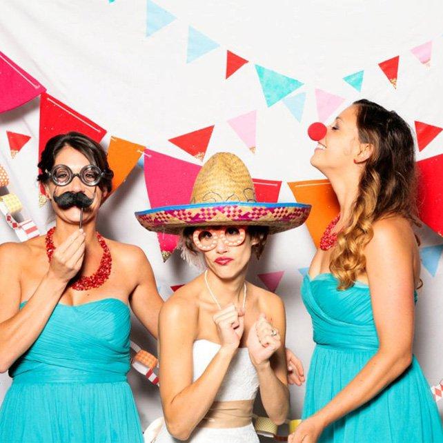 Аксессуары для свадебной фотосессии с гостями