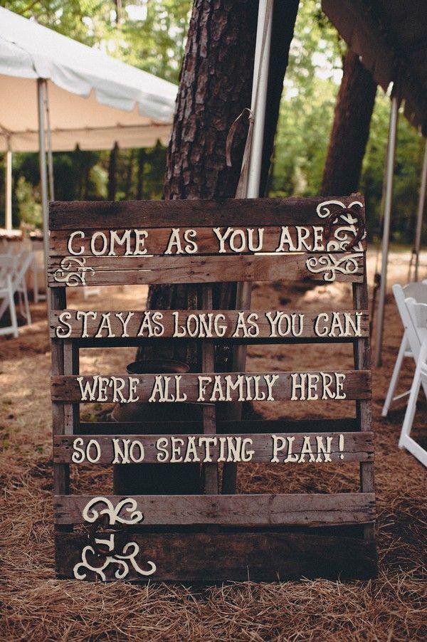 свадьба без плана рассадки
