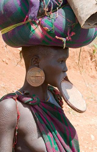 Свадебные традиции племени Сурма