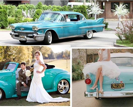 Ретро-автомобиль на свадьбу