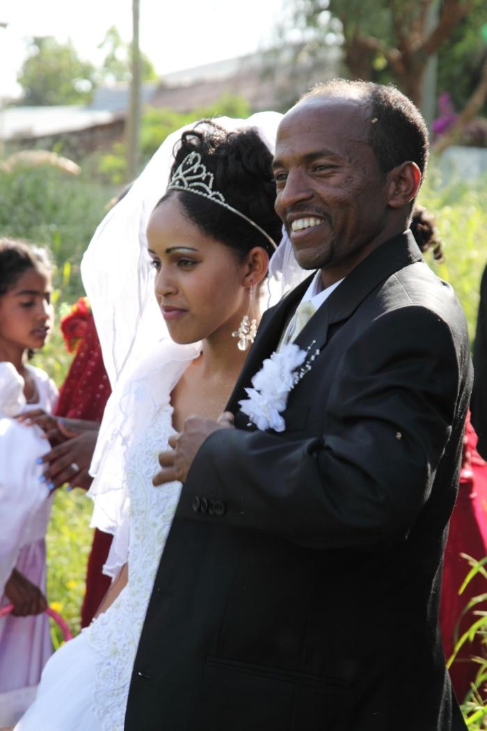 Жених и невеста в Эфиопии