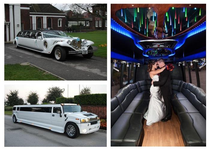 Большой лимузин на свадьбу