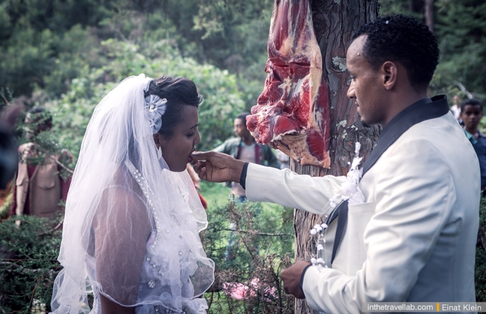 Свадебная традиция в Эфиопии