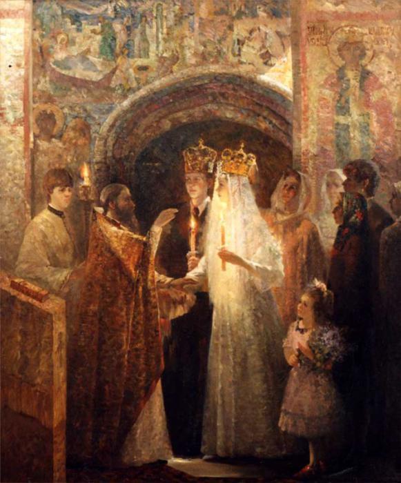 Венчание в русской церкви