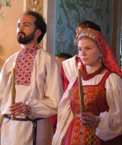 Венчание по-русски