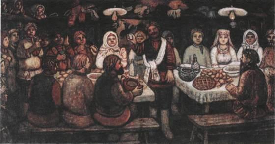 Древние свадебные традиции