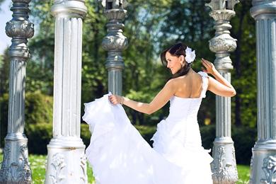 Свадьба в летний зной