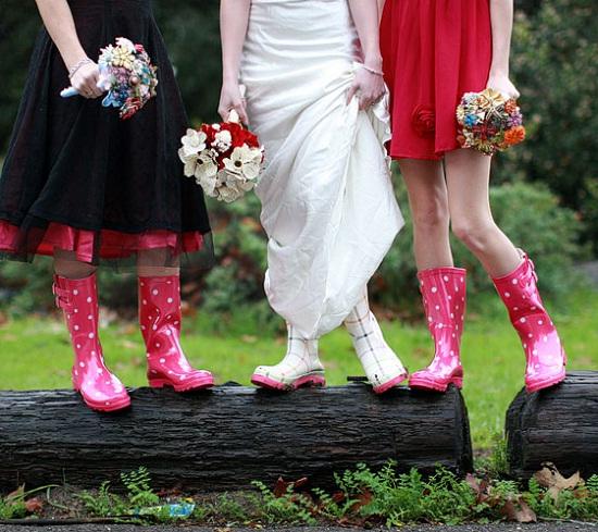 Идеи для свадьбы в дождь